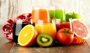 Ayurvéda, jus de fruits et légumes crus