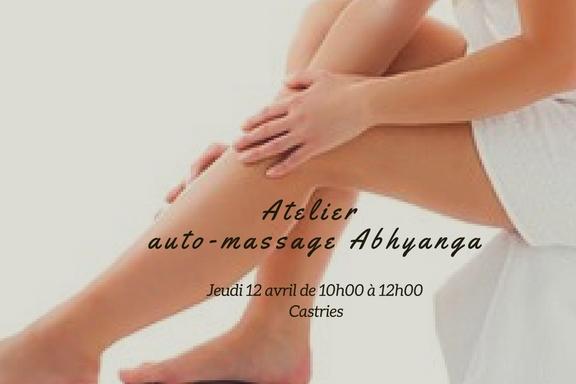 Atelier auto-massage Abhyanga