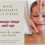 Massage visage anti-âge – nouveauté!